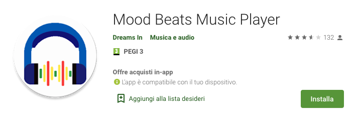 App Mood Beats Music Player